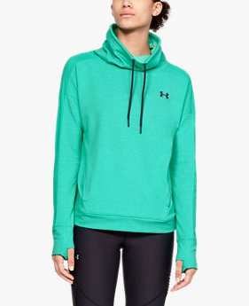 Women's UA Featherweight Fleece Funnel Neck