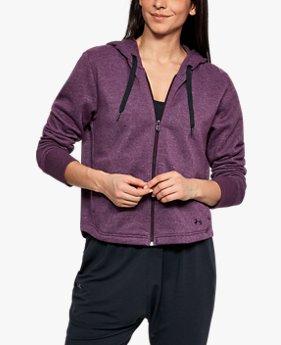 Jaqueta Feminina UA Favorite Fleece Full Zip