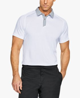 Camisa Polo UA Threadborne Masculina