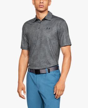 Polera UA Playoff Polo Tweed para Hombre
