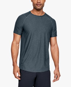 Camiseta de Treino Masculina Under Armour MK-1 Short Sleeve