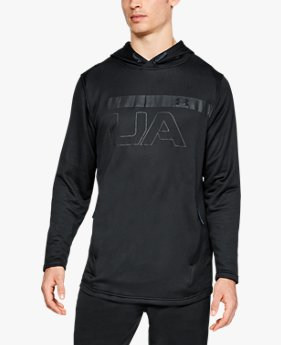 Moletom de Treino com Capuz Masculino Under Armour MK-1 Terry Graphic