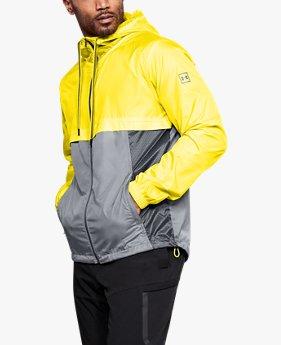 남성 UA 스포츠스타일 윈드브레이커 재킷