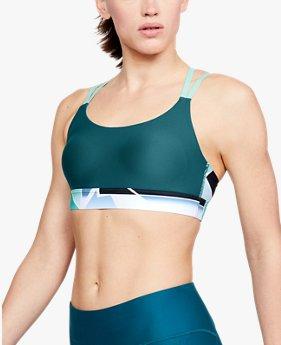 여성 UA 배니시 이클립스 로우 프린트 스포츠 브라
