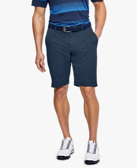 Herren Shorts UA Showdown, konische Passform, belüftet