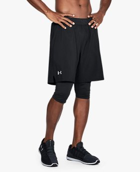Men's UA Launch 2-in1 Long Shorts