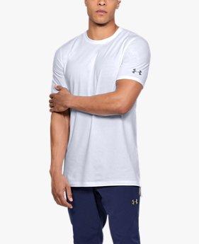 남성 UA 베이스라인 롱 라인 티셔츠