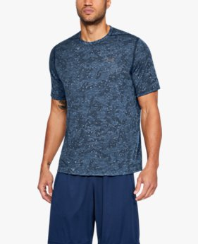 Camiseta UA Threadborne Printed SS Masculina