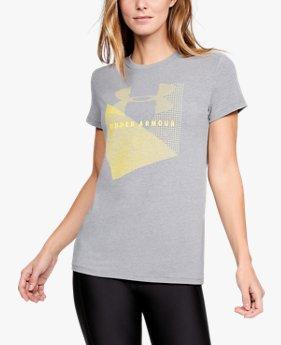 Women's UA Sportstyle Mesh Logo T-Shirt