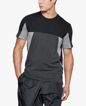 남성 UA 스포츠스타일 컬러블록 티셔츠