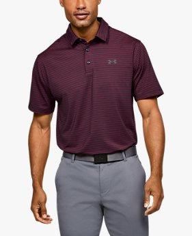 Men's UA Playoff Core Stripe Polo