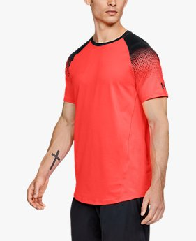 Camiseta de Treino Masculina Under Armour MK1 Dash Print SS