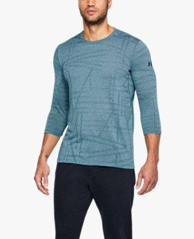 남성 UA Threadborne 7부 소매 유틸리티 티셔츠