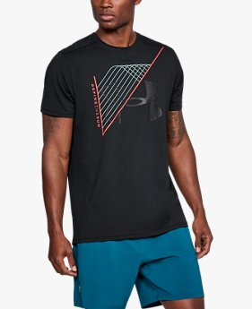Camiseta UA Warped Route Masculina