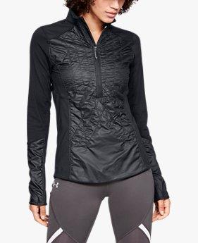 여성 UA 터레인 하이브리드 ½ 집 재킷