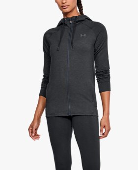Moletom UA Featherweight Fleece Full Zip Feminino