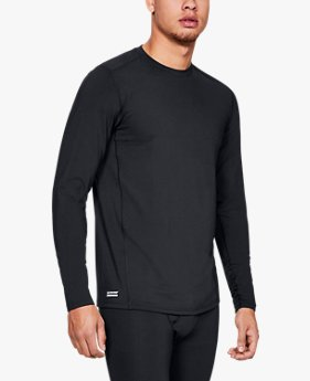 Herenshirt UA Tactical Crew Base met lange mouwen