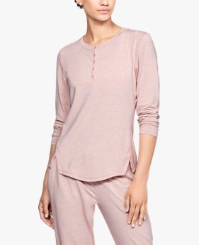 Women's Athlete Recovery Sleepwear™ Ultra Comfort Henley Top