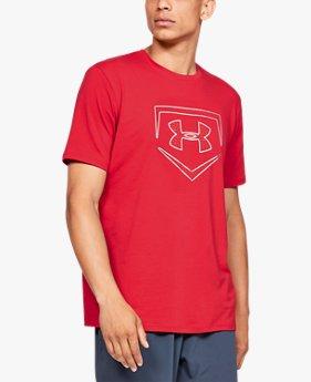 남성 UA 플레이트 아이콘 반팔 셔츠