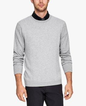 남성 UA 스레드본 크루 스웨터