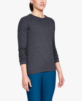여성 UA 스레드본 크루 스웨터