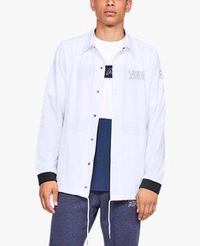남성 UA 베이스라인 코치스 재킷