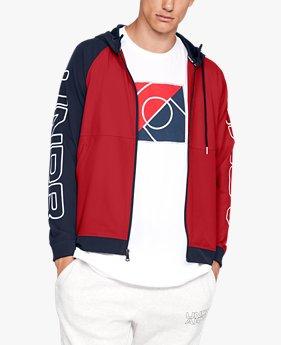 남성 UA 베이스라인 우븐 재킷