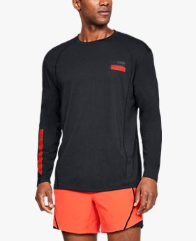 Men's UA Microthread Swyft Graphic Long Sleeve