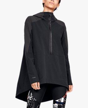여성 UA 우븐 그래픽 아노락 재킷