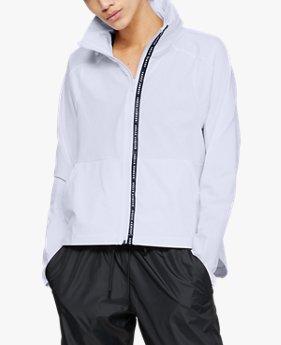 여성 UA 우븐 그래픽 재킷
