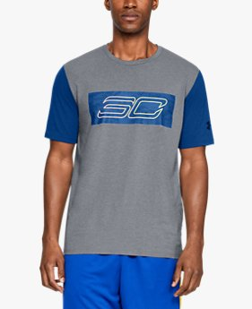 Camiseta de Manga Curta SC30 Logo Masculina