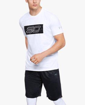 Erkek SC30 Logo Kısa Kollu Tişört