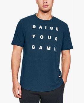 남성 UA 레이즈 유어 게임 반팔 티셔츠