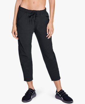 Calça Crop UA Storm Woven Supply Feminina