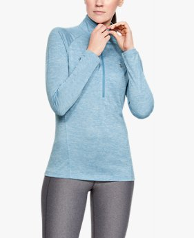 Women's UA Tech™ Twist ½ Zip