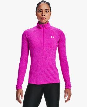 Women's UA Tech™ Twist ½ Zip
