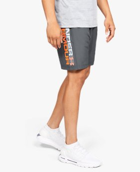 Short UA Woven Graphic Wordmark pour homme