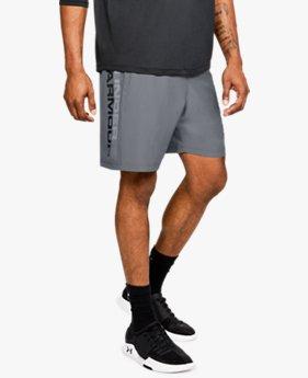 Men's UA Woven Graphic Wordmark Shorts