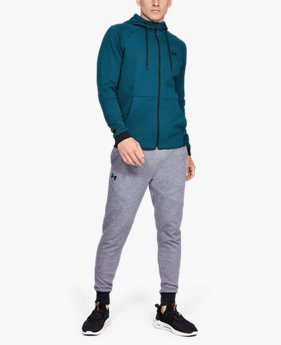 Moletom de Treino Masculino Under Armour HW Knit FZ Hoodie