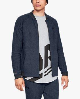 남성 UA 언스타퍼블 2X 보머 재킷