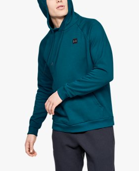 Sweat à capuche UA Rival Fleece pour homme