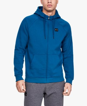 Veste UA Rival Fleece Full-Zip pour homme
