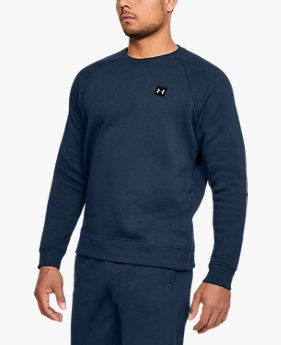 Moletom de Treino Masculino Under Armour Rival Fleece Crew