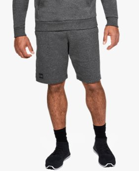 Herren UA Rival Fleece Shorts