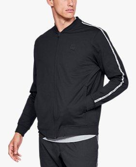 남성 UA 스포츠스타일 트리콧 트랙 재킷