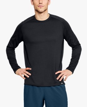 Polera UA Lighter Longer Crew para Hombre