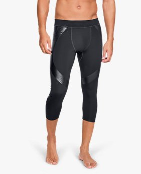 Men's UA Perpetual Powerprint ½ Leggings