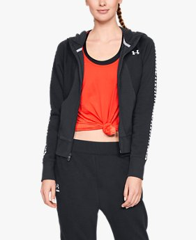 Women's UA Microthread Fleece Graphic Full Zip