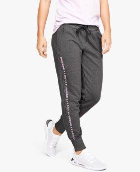 Women's UA Microthread Fleece Trousers