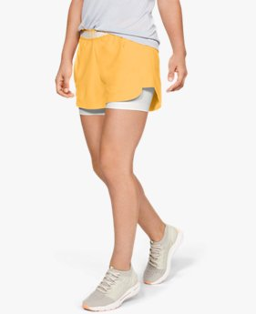 Short UA Play Up 2-in-1 da donna